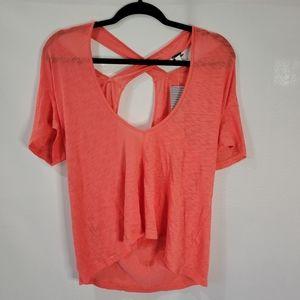 Splendid short sleeve tshirt, size xl, pink
